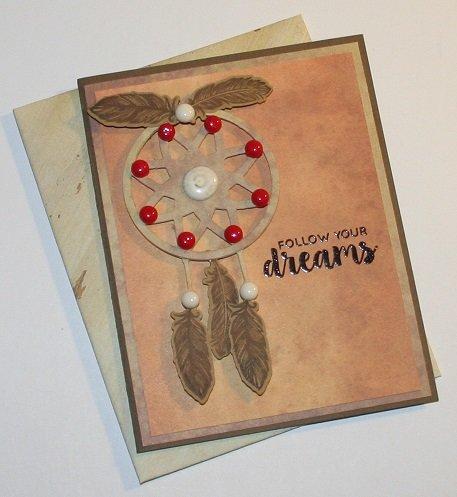 """FOLLOW YOUR DREAMS"" CARD"