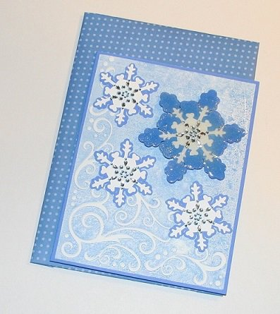 WINTER TIME CARD