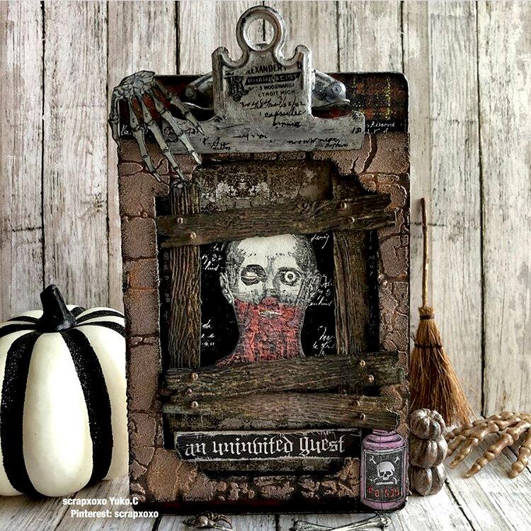 Timholtz mini clipboard(Halloween)
