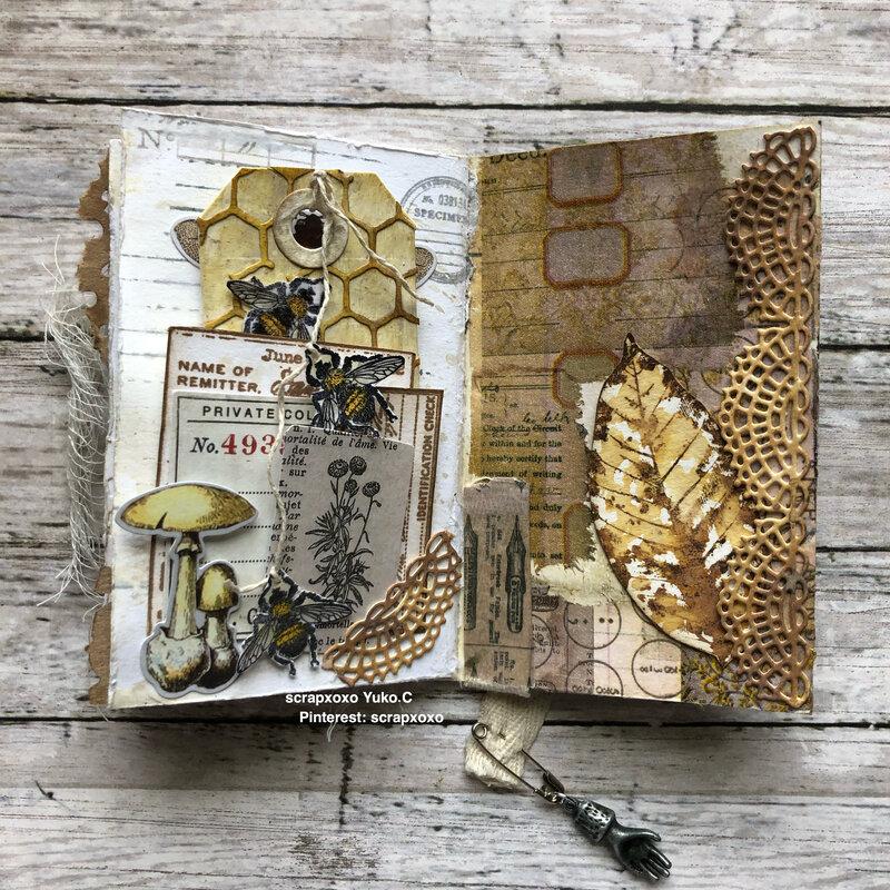 Junk journal book
