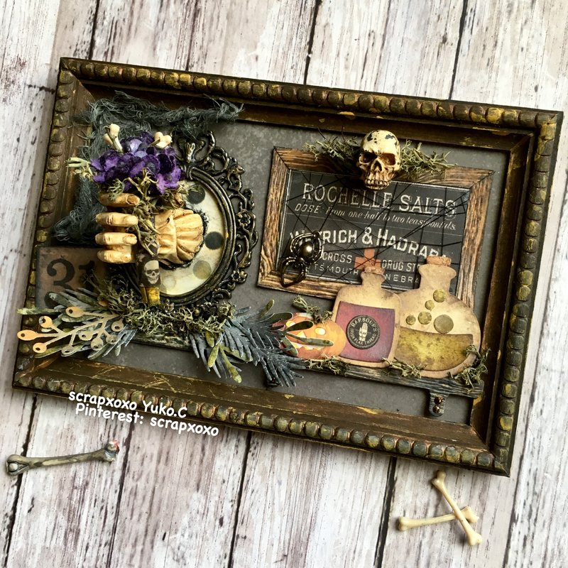Timholtz halloween 2018 flamed panel