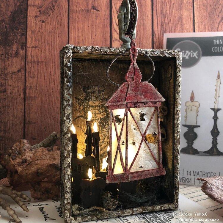 Candlelight and lantern