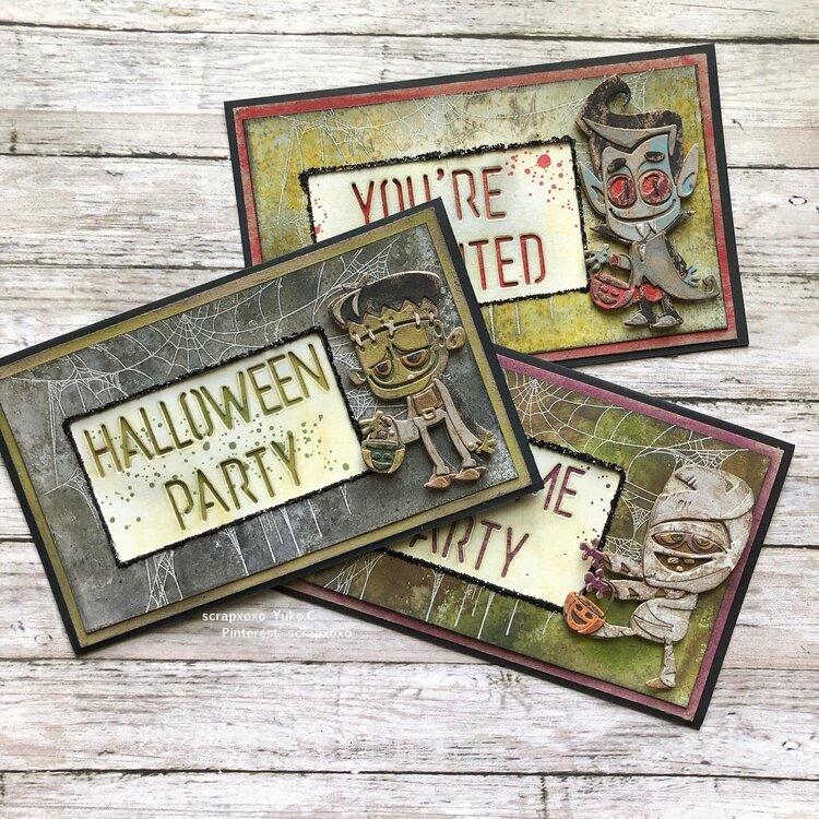 Halloween Invitation cards