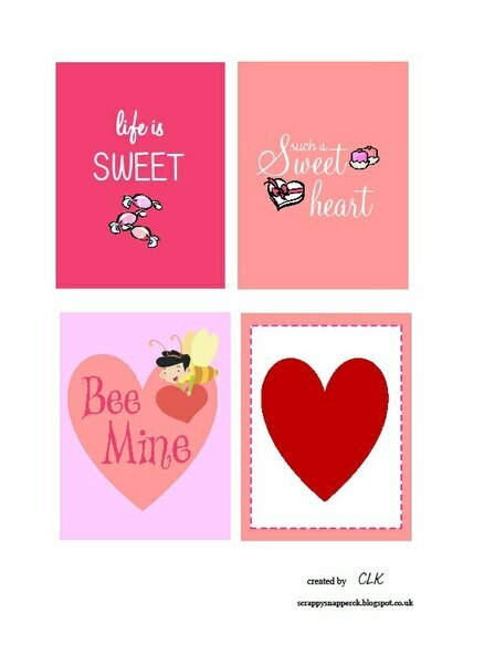 Free PL Printable for Valentines Day!