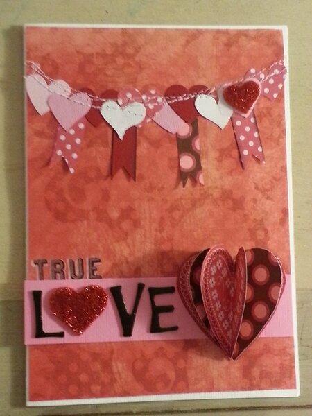 Making a Valentine for my Valentine!