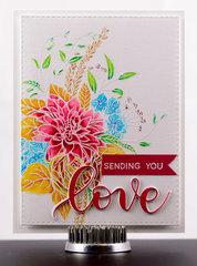 Greeting Card 2018 - Sending You Love