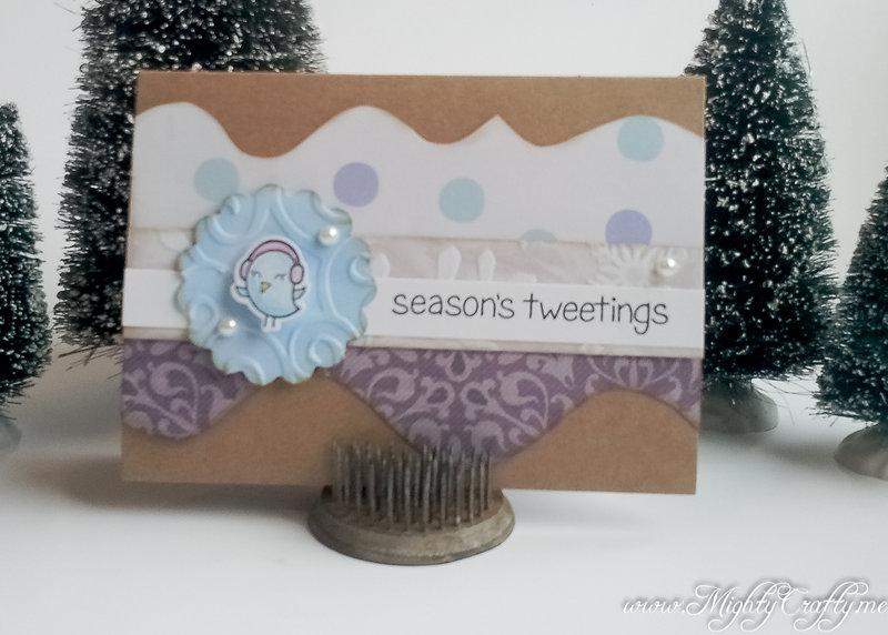 Winter Sparrows Cards