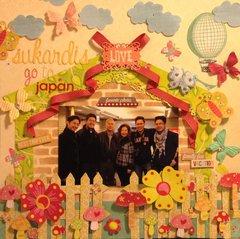Sukardis Go to Japan
