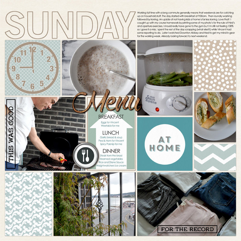 Week-at-a-glance: Sunday