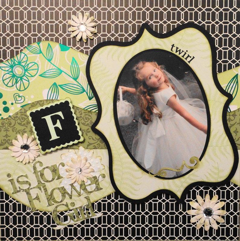 F is for Flower Girl - LHP