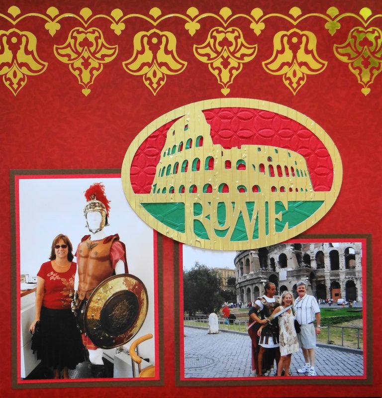 Tourist in Rome - LHP