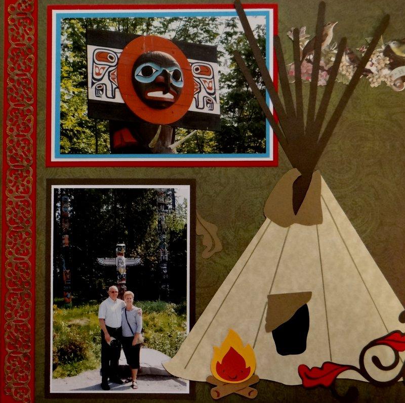 Stanley Park Totem Poles - LHP