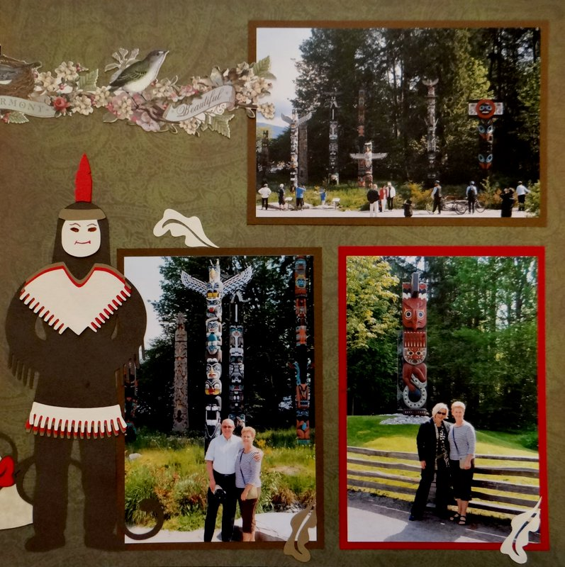 Stanley Park Totem Poles - RHP