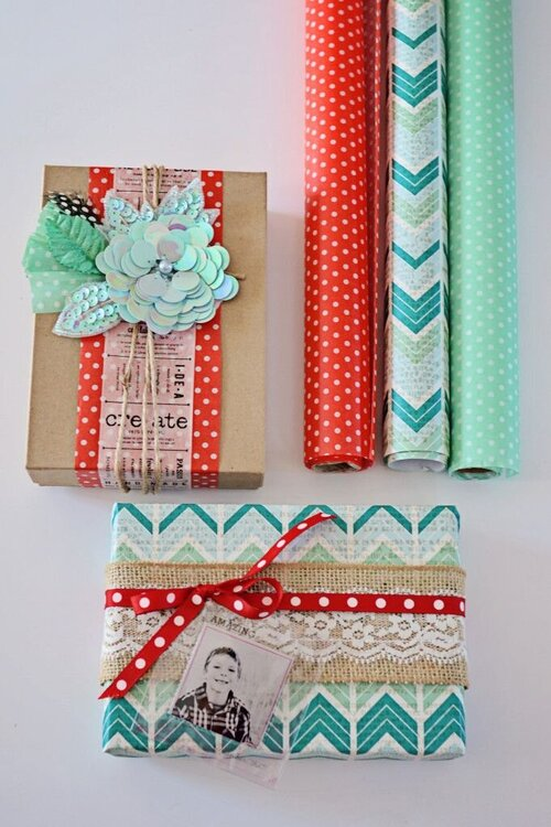 Stunning gift-wrapping