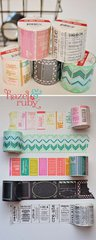 Check out the FAT Washi Tape Rolls!