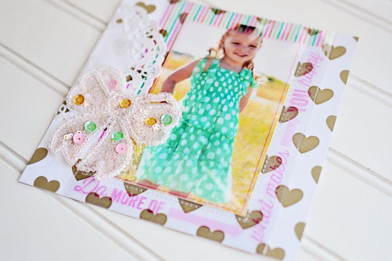 Pic Pocket frames + Sequin sparkles!