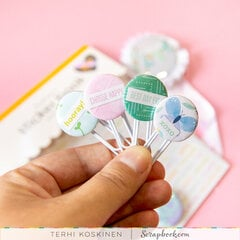DIY Buttons and Paper Clips