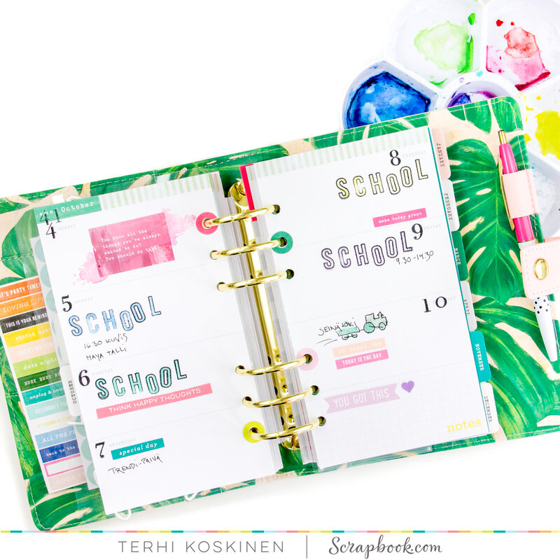 Exclusive Stamps and Planner VIDEO
