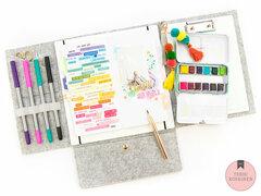 Watercolors and Journal Studio
