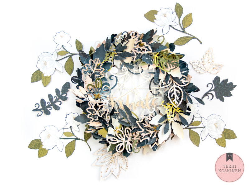 Goldenrod Wreath