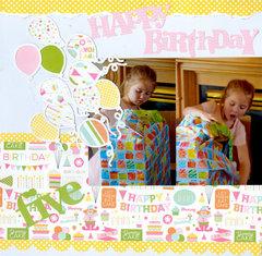 Happy Birthday Audrey pg 1 of 2