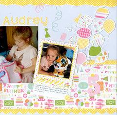 Happy Birthday Audrey pg 2 of 2