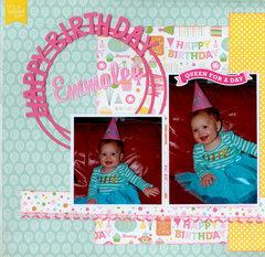 Happy Birthday Emmalee pg 1 of 2