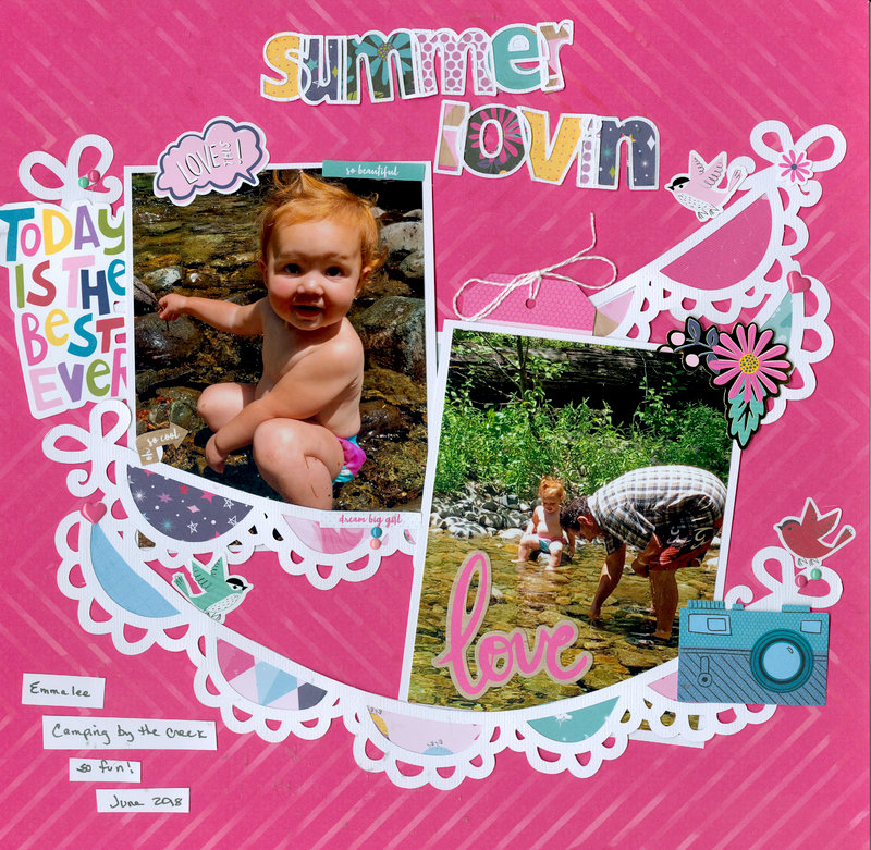 Summer Lovin with granddaughter Emmalee