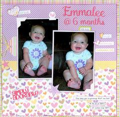 Emmalee at 6 months