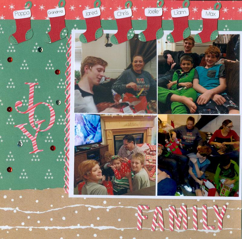Family Christmas pg 1 of 2