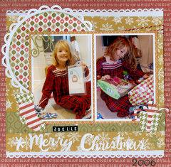 Joelle Christmas 2006