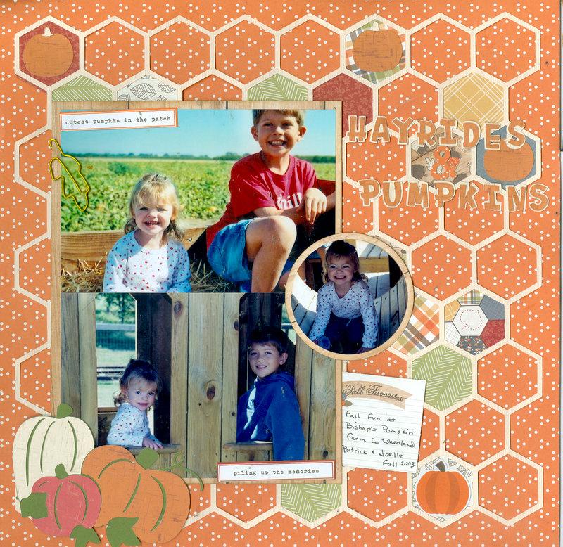 Hayrides and Pumpkins