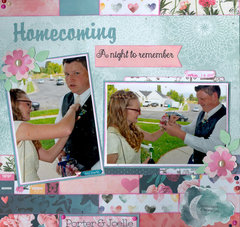 Homecoming A night to remember.  granddaughter Joelle