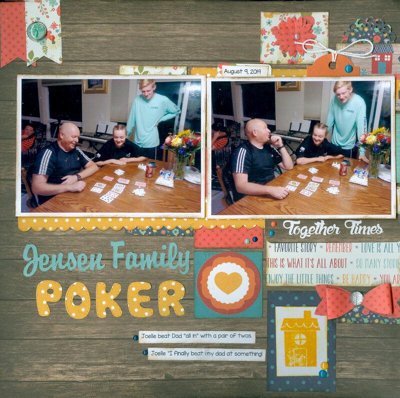 Jensen family Poker