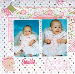 Precious baby girl...granddaughter Joelle