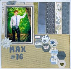 Max at 16