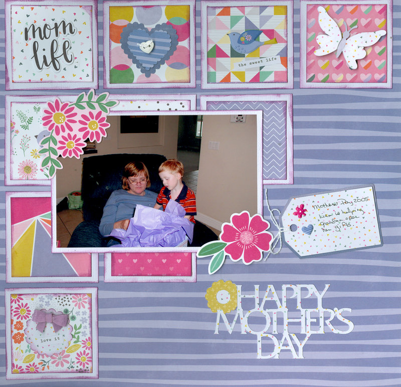 Mothers Day 2005 with grandson Liam