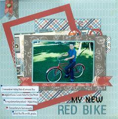 My new red bike