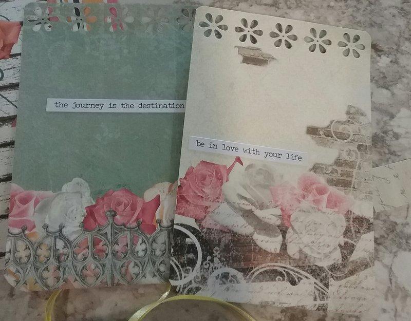 Bo Bunny Aryia's Garden Collection Mini Album
