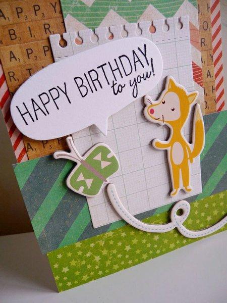 Foxy birthday wishes