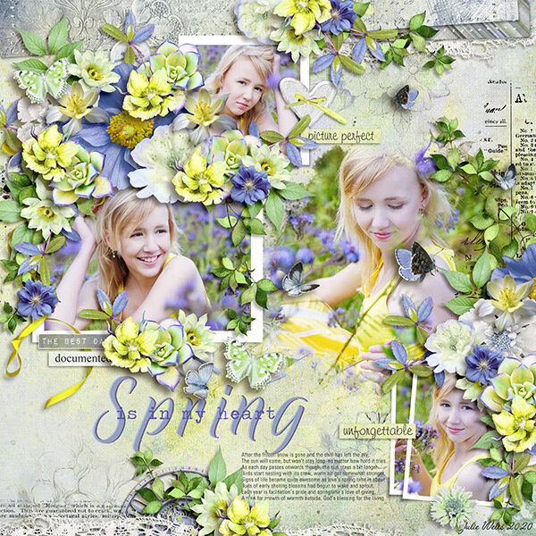spring is in my heart