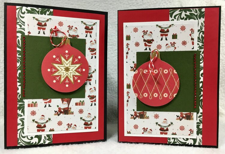 December Christmas Cards 7 and 8