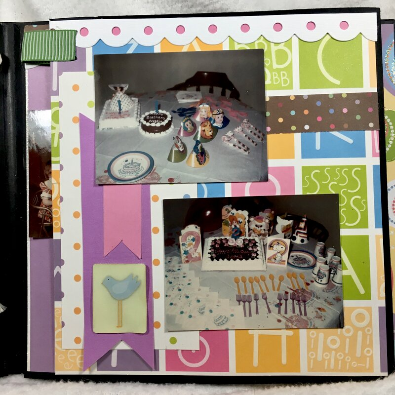 Angie's album page 7 flap closed (V-22/52)