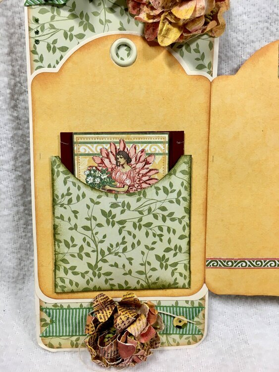 Tag for Geraldine - Front inside flap
