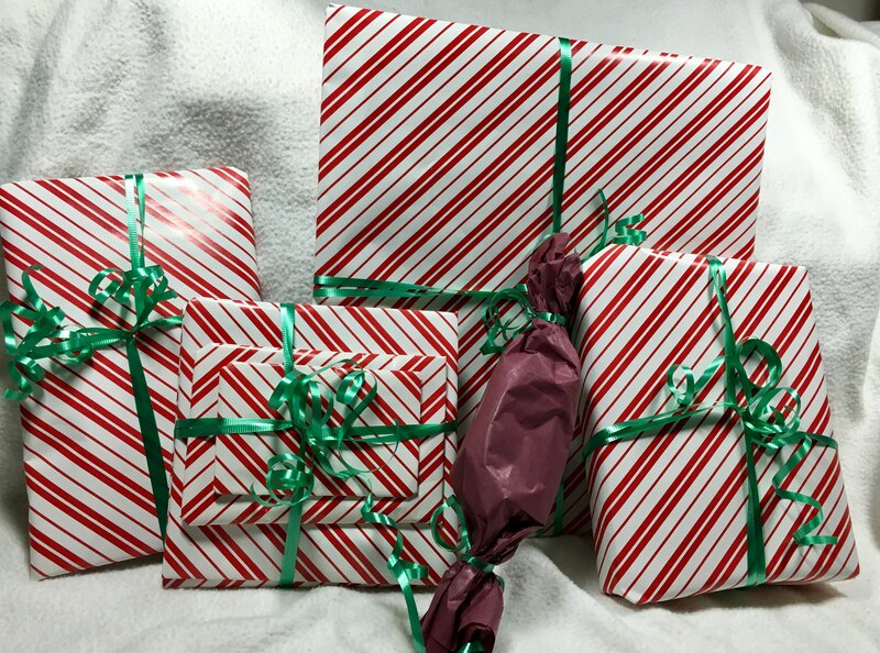 Secret Santa gifts for Tammi - Wrapped