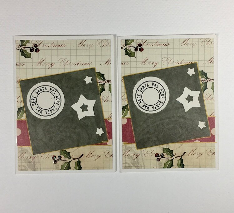 Oct. Christmas Cards 6 and 7 (56 & 57/52)