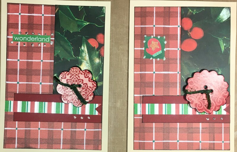 September Christmas Cards 1 and 2