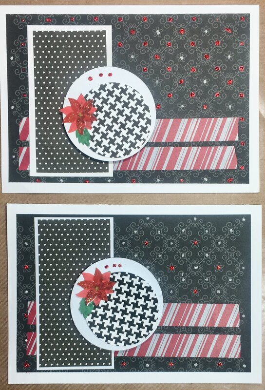 September Christmas Cards 4 and 3