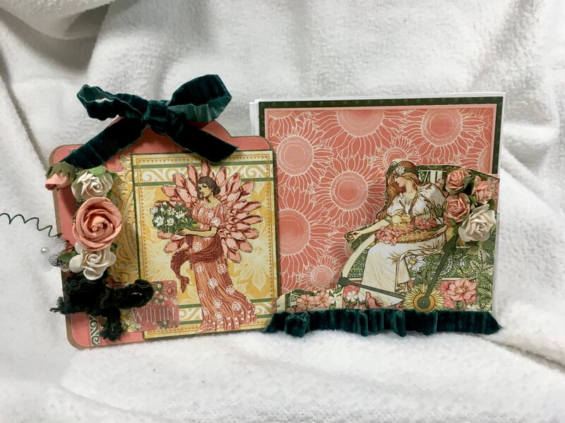 kwclement inspired G45 GG Easel Card closed tag out