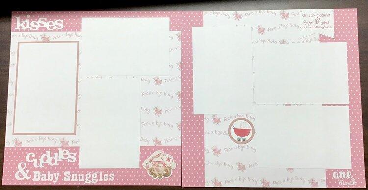 Baby girl gift album